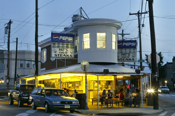 Been here ate that! Pat's King of Steaks 1237 E. Passyunk Avenue  Philadelphia, PA 19147