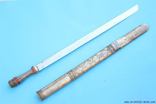 Oriental-Arms: Very Fine  Bhutanese Sword