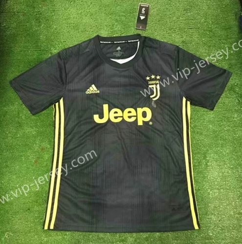 7feaffa19c5 2018-19 Juventus 2nd Away Dark Gray Thailand Soccer Jersey AAA ...