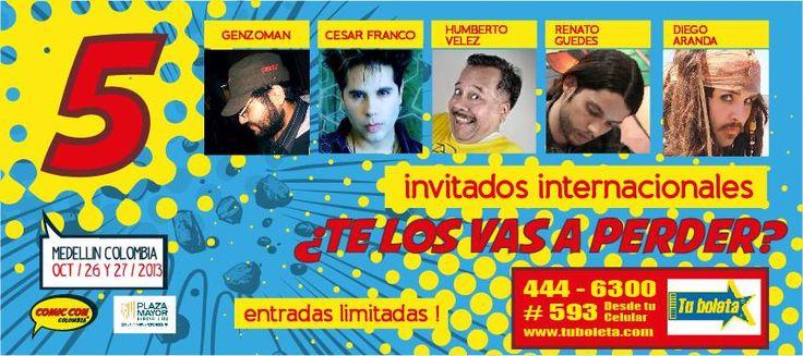 Del 26 al 27 de octubre llega la ¨Comic Con¨ Colombia a Plaza Mayor