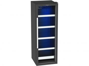 Expositor/Cervejeira Vertical 1 Porta 209 Litros - Venax Blue Light