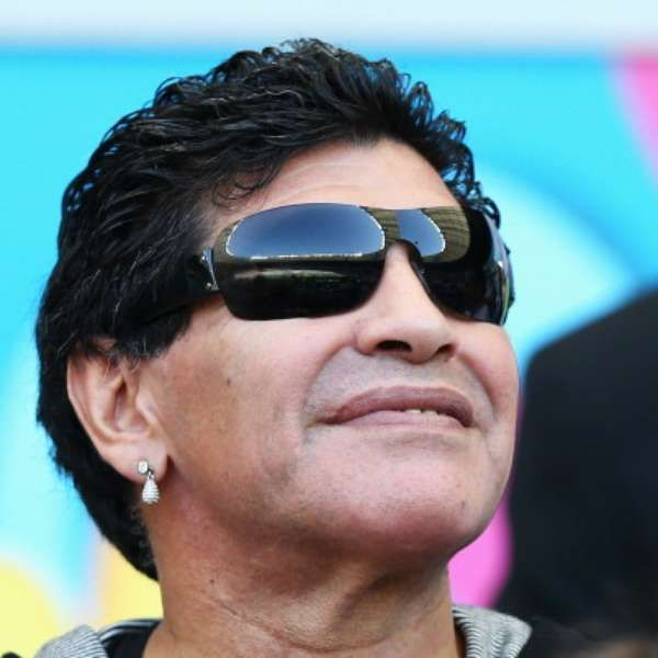 """Fifa World Cup 2014 Brazil: Argentina's Maradona states Lionel Messi's """"Golden Ball"""" medal at world cup is undeserved & marketing ploy! Maradona thinks Colombia's 23-yr old James Rodriguez deserved it (Latin bias ; ) • Maradona won GBall when winning 1986 WCup vs De! • 1986 cup game vs UK he not only made """"Hand of God"""" goal but  """"The Goal of the Century"""" (dribbling past 5!) • James: http://en.wikipedia.org/wiki/James_Rodr%C3%ADguez_(footballer) • Maradona…"""