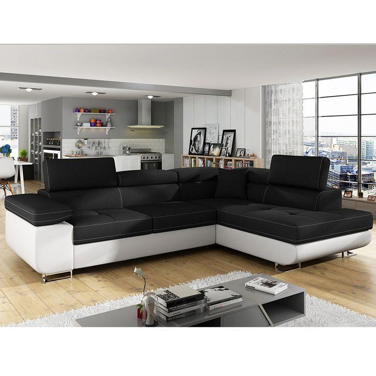les 38 meilleures images du tableau canap d 39 angle sur pinterest canap s canap d angle et canap. Black Bedroom Furniture Sets. Home Design Ideas
