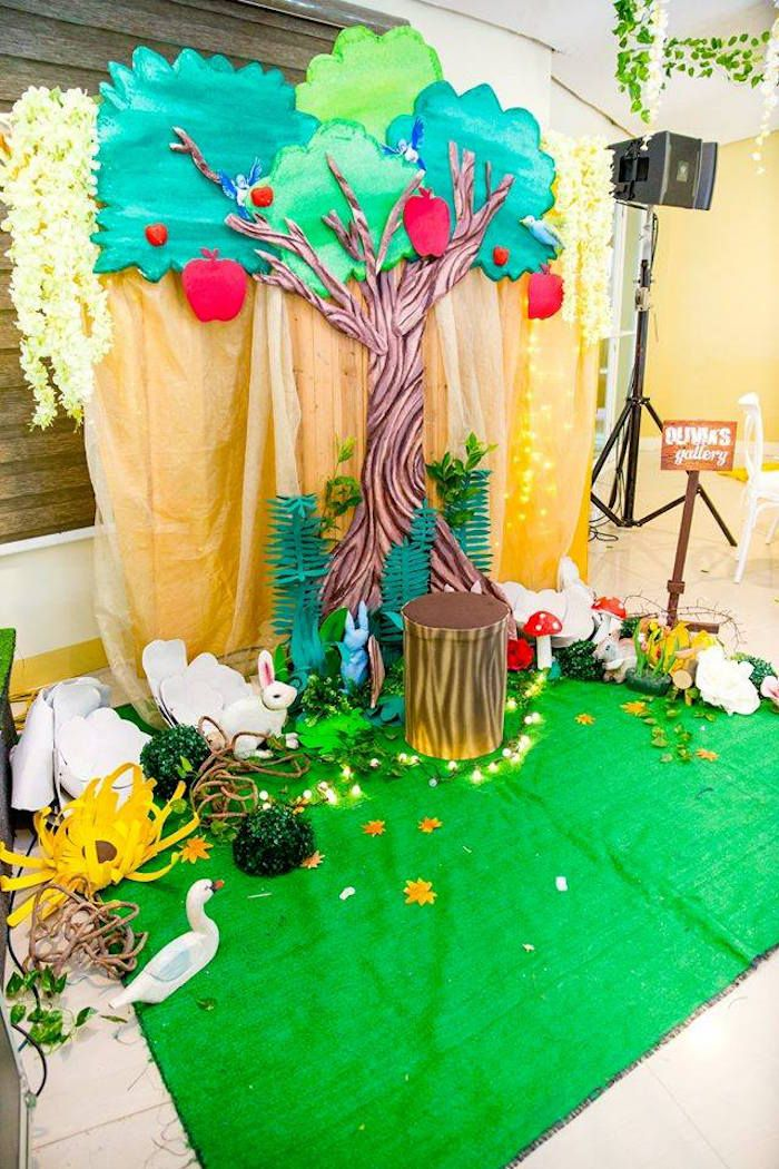 Snow White Enchanted Forest Birthday Party Princess Party Ideas