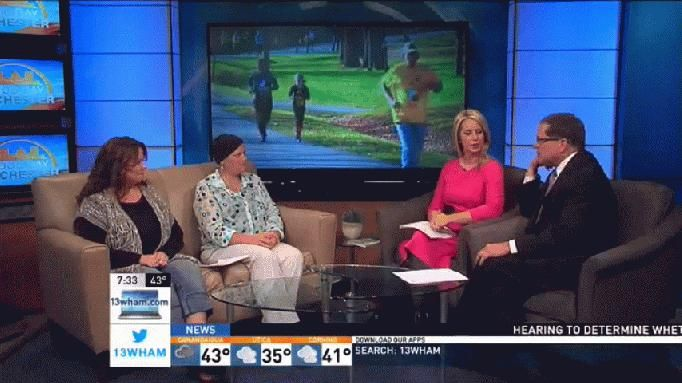 The annual Running to Remember 5K Run/Walk is coming up later this month. We're joined by some of this year's participants to talk about how its commemorating the lives of many in our area.