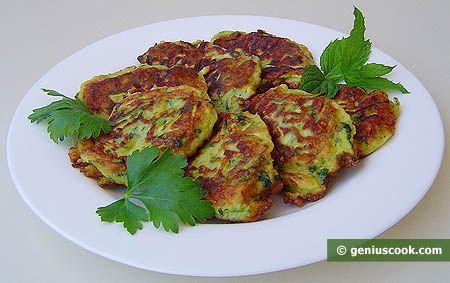 Squash Pancakes Recipe | Children's Food | Genius cook - Healthy Nutrition, Tasty Food, Simple Recipes