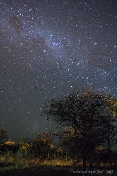 Good night beautiful.  I hope your day was wonderful and relaxing!  The stars in Southern Africa