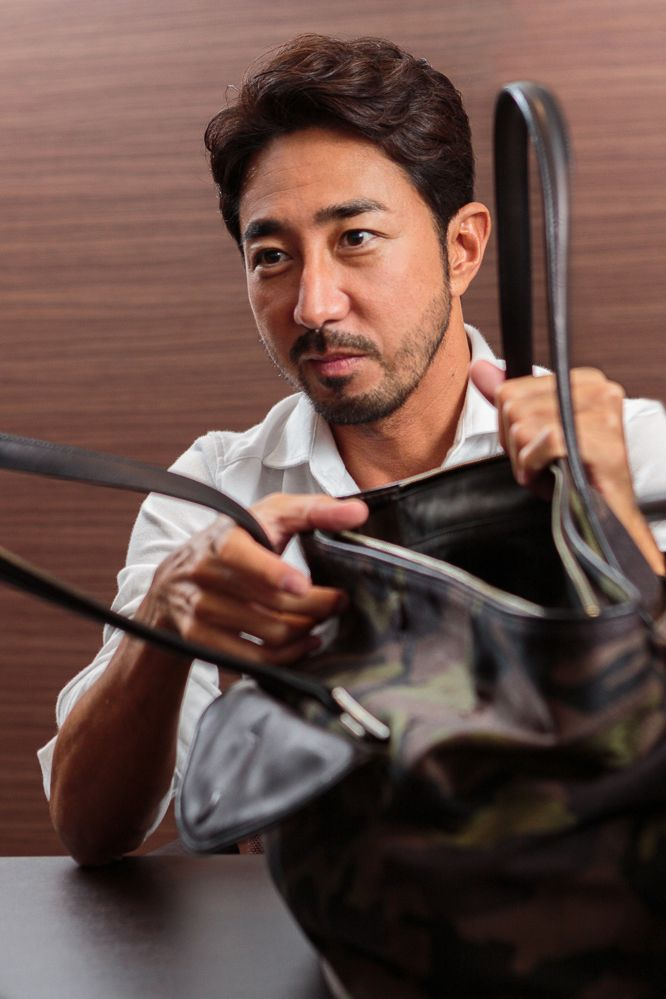干場義雅氏が2012年、メイド・イン・ジャパンにこだわって立ち上げたブランド「PELLE MORBIDA」