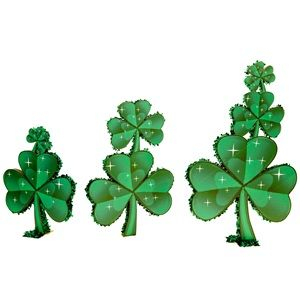 Luck of the Irish Shamrocks Parade Float Kit - Beautiful, eye catching shamrock decorations are guaranteed to draw attention to your parade float.