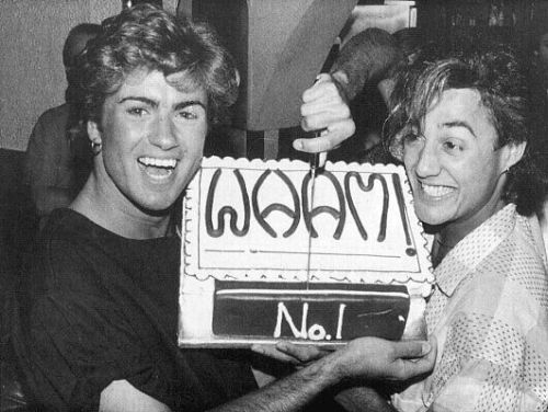 George Michael - Wham's! First number one. London, 1984