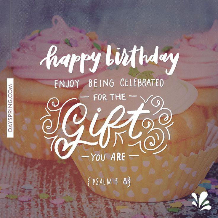 Birthdays, Happy Birthday And Bible Words