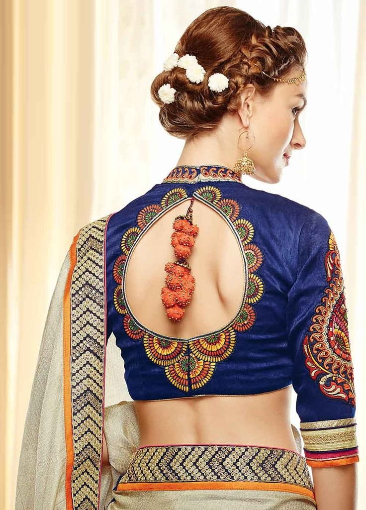 Attractive and Stunning Georgette and Silk Saree with Banarasi Jacquard Blouse SA-KIST-307