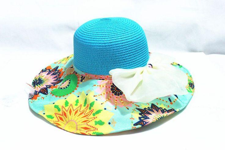 Aliexpress.com: Купить 2015 Новый стиль бантом печать мягкие женщины старинные широкими полями летняя шляпа флоппи колокол соломенной шляпы для женщин из Надежный Летние шляпы поставщиков на X-express