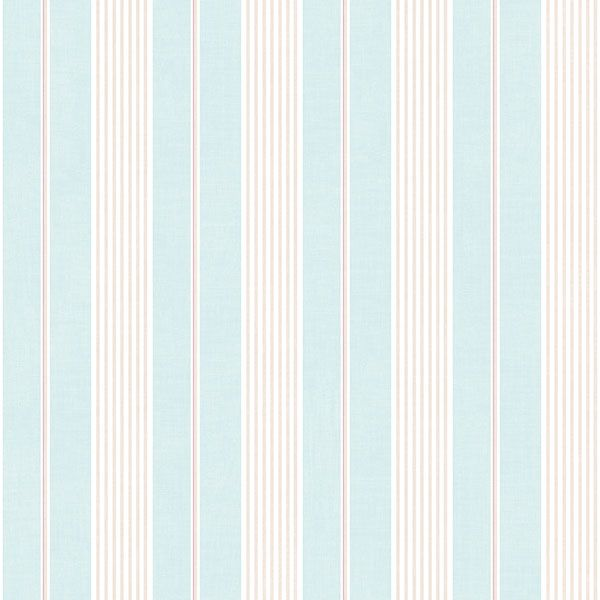 Lovely pink and blue mixed stripe from Galerie's Jardin Chic Collection- G67324