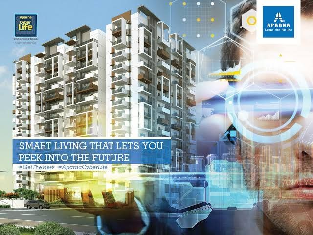 Aparna CyberLife is one of the most modern gated communities coming up in nallagandla provides clubhouse, swimming pool, fitness center, tennis court etc.