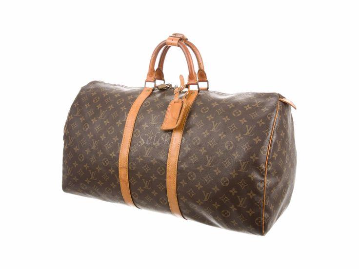 Bolso de viaje Louis Vuitton Keepall 55 monogram