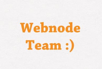 Webnode Team :)