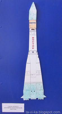 модель космического корабля Восток