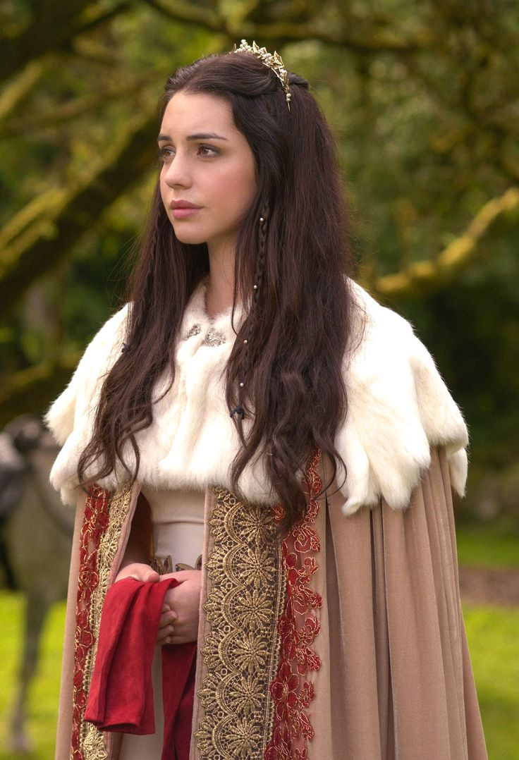 Adelaide Kane as Mary Stuart, Queen of Scots in Reign (TV Series, 2013).
