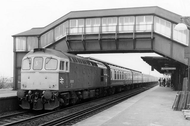 Sittingbourne Station, 6th April 1980