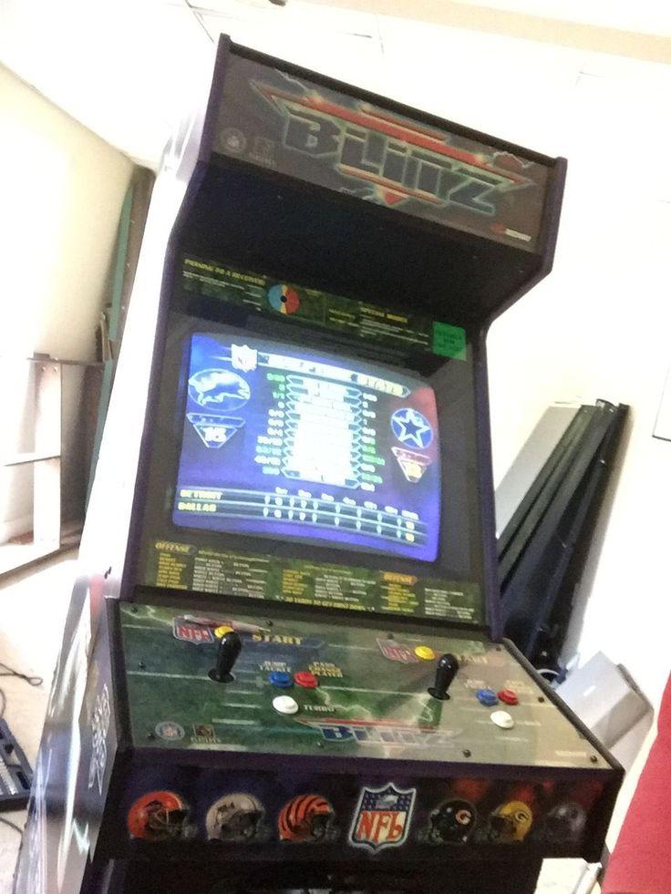 Midway Nfl Blitz Dedicated Arcade Game