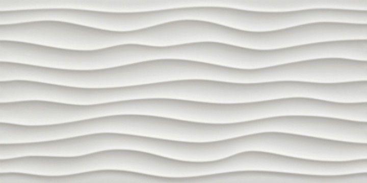 3D Dune White Matt 40x80 Wandfliese