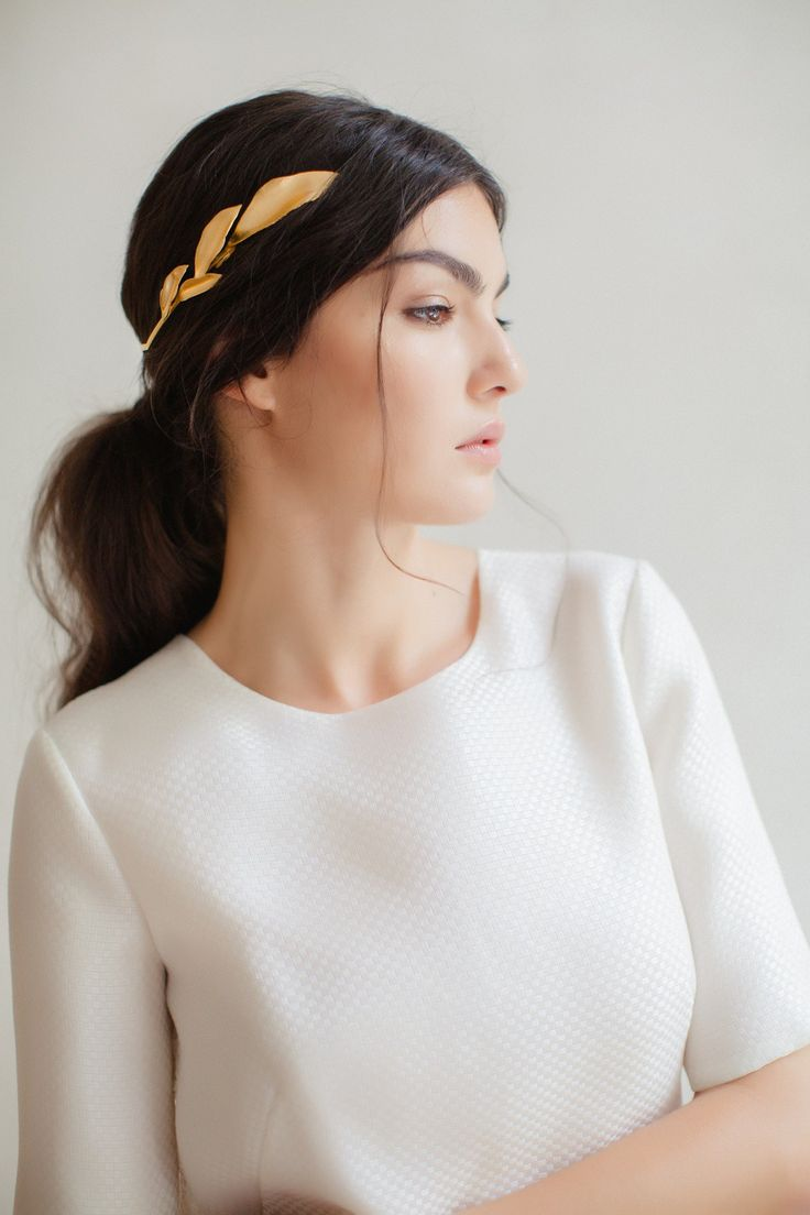 Swoon over jannie baltzer s wild nature bridal headpiece collection - Jannie Baltzer Copenhagen A 2017 Collection Of Delicate Nature Inspired Couture Bridal Headpieces