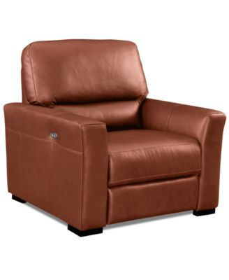 Nicolo Leather Power Recliner Chair  sc 1 st  Pinterest & Best 25+ Power recliner chairs ideas on Pinterest | Recliners ... islam-shia.org