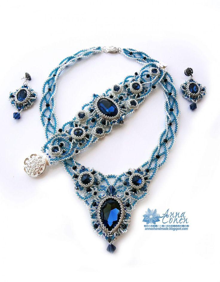 Blue Montana | biser.info - всё о бисере и бисерном творчестве