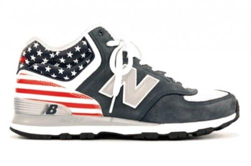 new balance. Because America.