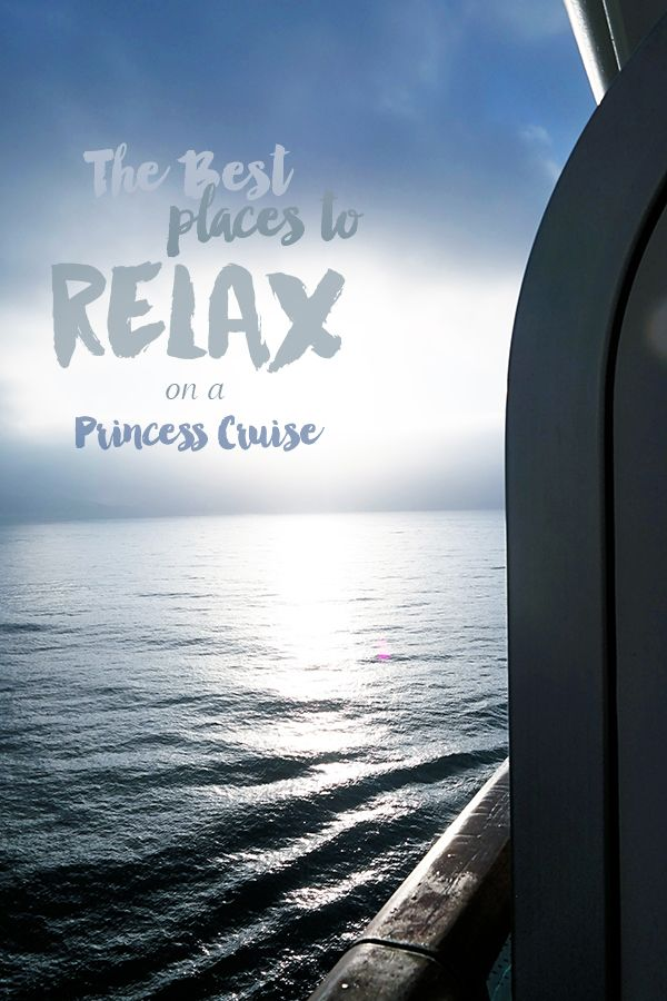 Cruising is great for people wanting lots of activity or just to relax. Here are a few of my favorite places to relax on board a Princess Cruise Ship. from @dineanddish