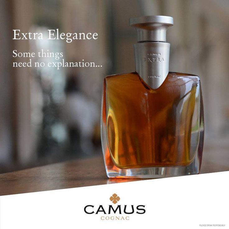 cognac extra elegance / camus http://www.plaisirsdegascogne.com/boutique/fr/cognac-camus-extra-elegance Élégance Extra offre une véritable cascade d'arômes: sa texture complexe et suave présente des notes de violette séchée, de pâtisseries, de tabac, de cuir et de noix, qui culminent dans une finale des plus veloutées.