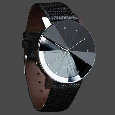 Luxury Quartz Sport Military Stainless Steel Dial Leather Band Wrist Watch Men in Jewelry & Watches, Watches, Parts & Accessories, Wristwatches | eBay