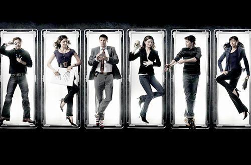 BONES cast - Hodgins, Angela, Booth, Brennan, Zack, Camille!   #bones  #kurttasche