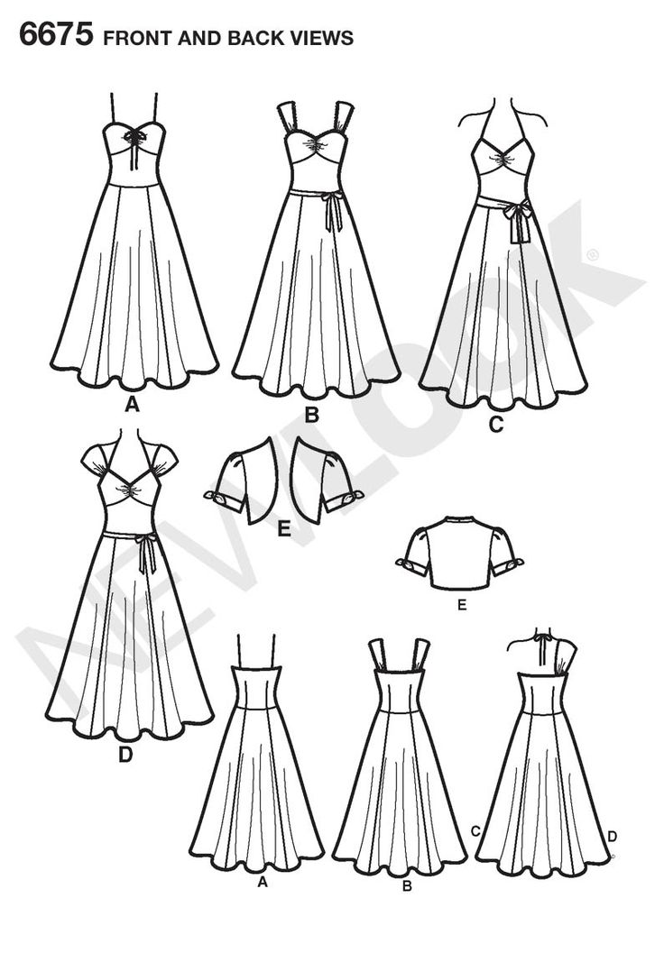 B could work with some alterations to the sleeves: Jackets 4 29, Front Back Image, 6675 Miss Dresses, Indian Dresses, Dance Dresses, Dresses Ideas, Jackets Patterns, Dresses Patterns, Frontback Image