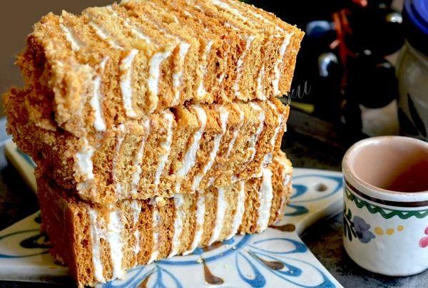 Рецепт крема для медовика