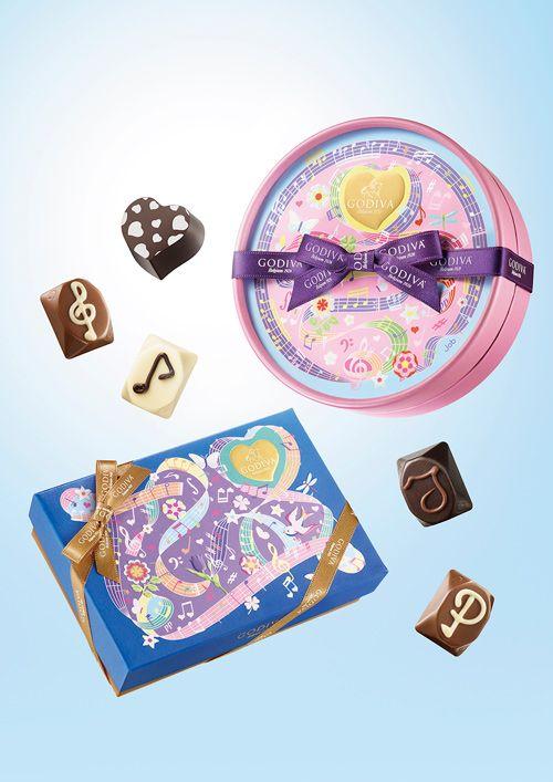 ゴディバからホワイトデー限定チョコレート「メロディーコレクション」 - カシスやココナッツの味わい   ニュース - ファッションプレス
