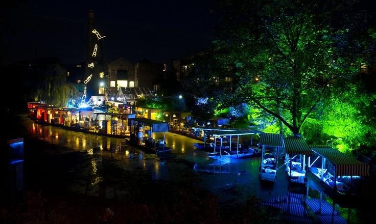 IKEA Floating Night Market, Regent's Canal