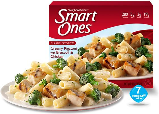 Creamy Rigatoni with Broccoli & Chicken - Weight Watchers® Smart Ones®