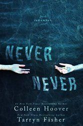 Never Never by Colleen Hoover   #1 New York Times bestselling author of Hopeless joins forces with the New York Times bestselling author of Mud Vein. Together, they have created a gripping, romantic tale unlike any other.  http://readersklub.blogspot.com/2015/02/most-anticipated-romance-novels-of-2015.html