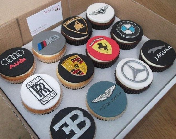 Car logo cupcakes - Cake by jameela