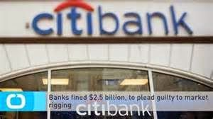 Banks fined $2.5 billion, to plead guilty to market rigging