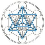Merkaba And Flower Of Life - Download From Over 52 Million High Quality Stock Photos, Images, Vectors. Sign up for FREE today. Image: 34372352