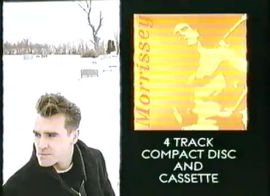 Watch the TV commercial for Morrissey's Suedehead single from 1988  #morrissey #thesmiths