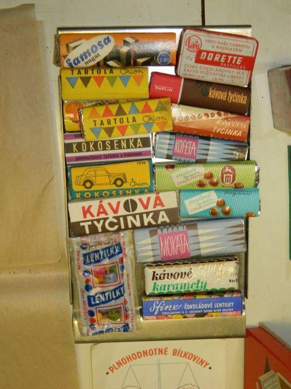 České cukrovinky 70. let | Retro | Pinterest