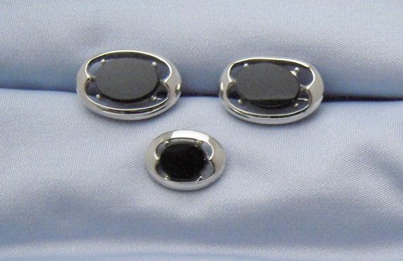 Vintage Silvertone Cufflinks and Tie Tack $15.99 | For ...