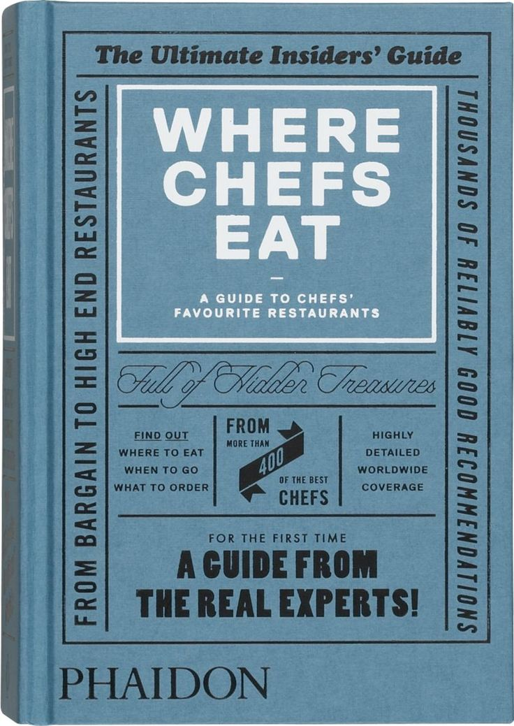 Where Chefs Eat Cookbook  | Crate and Barrel