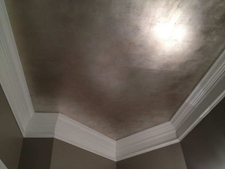 Brushed Silver Metallic Ceiling Treatments Pinterest