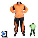 Two Piece Motorcycle Rain Suit for Women RS5021