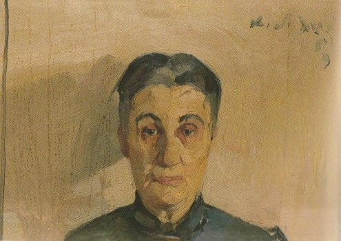 Portrait of the painter's mother, Nikolaos Lytras